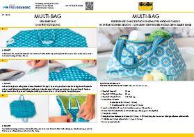 Anleitung Multibag Vlieseline