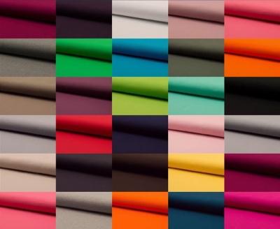 Jersey uni in vielen Farben erhältlich