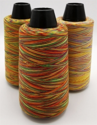 Umstechgarn, Multicolor, 40/2, Polyester, 2.743 Meter Cone